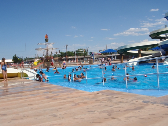 Adventure Bay Opens as Heat Wave Grips High Plains