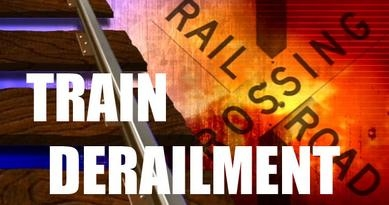 Grain Cars Derail In Ensign