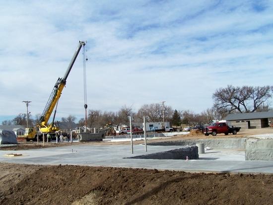 Progress continues at Liberal Water Park