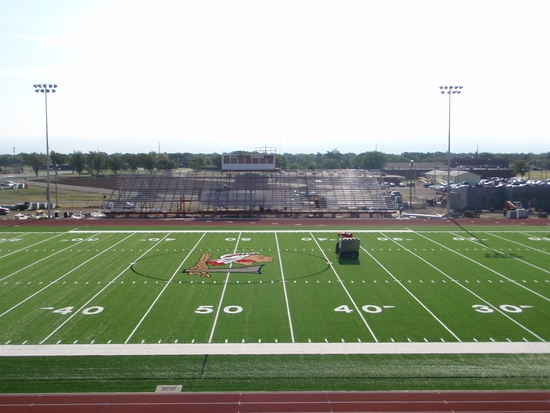 Thursday pictures of Redskin Field