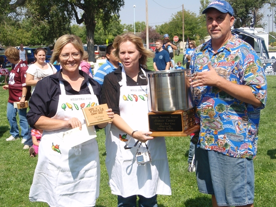 Mills Ideal Food Wins Chili Cookoff