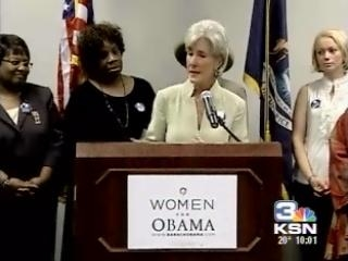 Sebelius Expected To Be Named To Cabinet Post