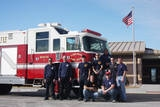 Liberal Fire Department Promotes Three