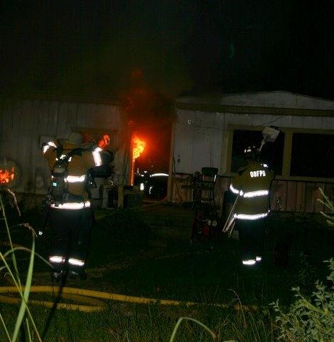 Body Found In Burned Trailer