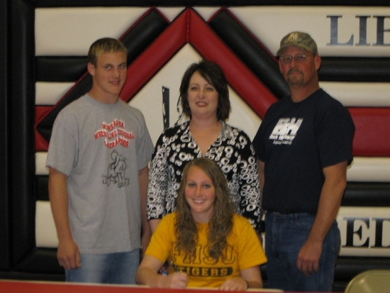 McPhail Signs at Fort Hays State