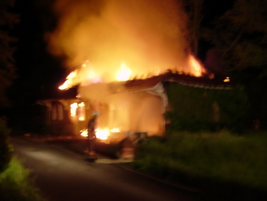 Liberal Firefighters Respond to Residential Fire in Vacant Structure