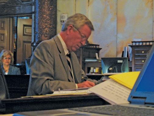 Senator Morris Upset With Sebelius' Veto On Economic Development Budget