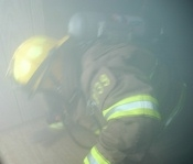Guymon Firefighters Fight House Fire