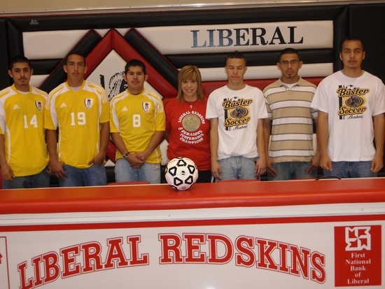 Six Redskin Soccer Players Sign