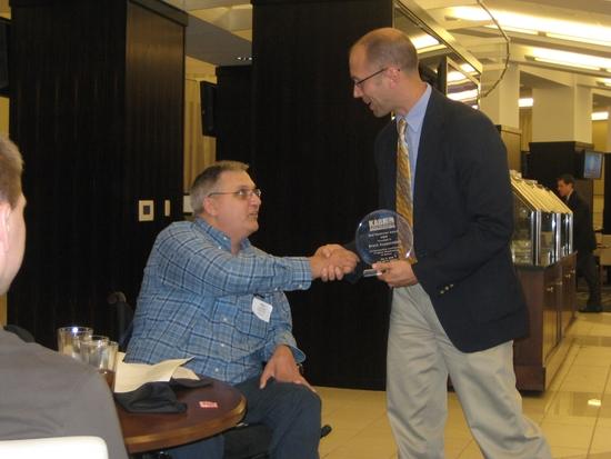 Kappelmann Receives Hod Humiston Award in KC