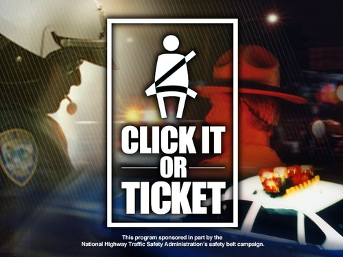 Click It or Ticket Is On Its Way To Liberal
