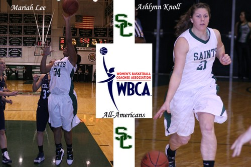 Two Lady Saints Honorable Mention All Americans