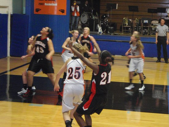Lady Skins Dig Big Hole Early in Colby