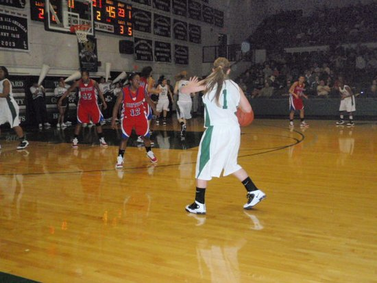 Lady Saints in Foul Mood After Loss