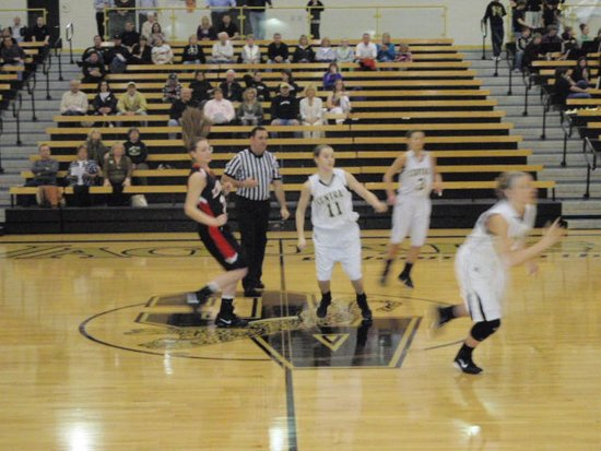 Andover Central Saves Best for Lady Skins