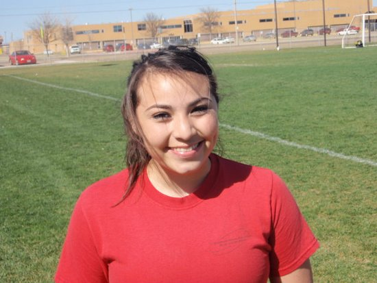 Karina Vazquez is the Mead Lumber Athlete of the Week