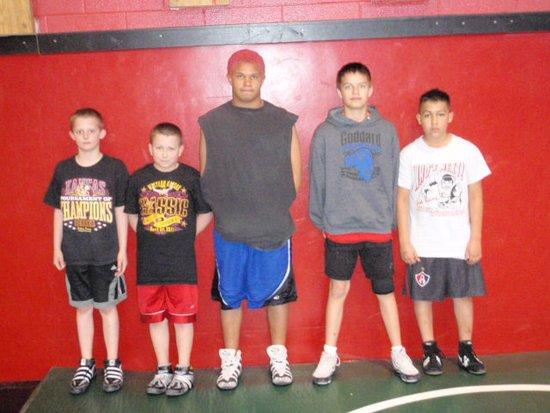 Five Liberal Federation Wrestlers State Bound