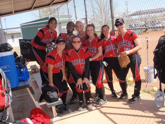 LHS Softball in Loaded Regional