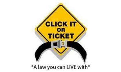 Click It or Ticket is Just Ahead