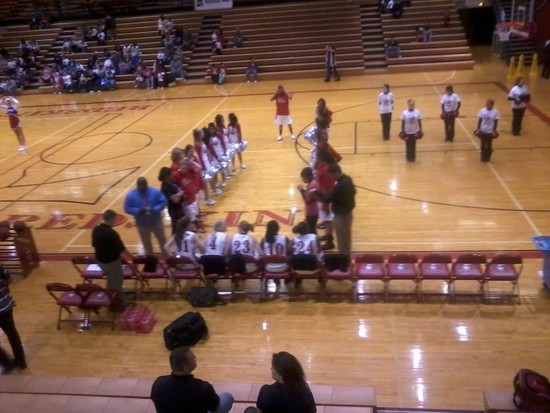 Lady Skins Fine Except for Free Throws