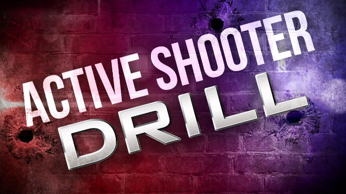 County Wide Active Shooter Drill May 6th