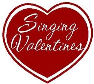 redskin singers offering valentine o grams - Singing Valentine