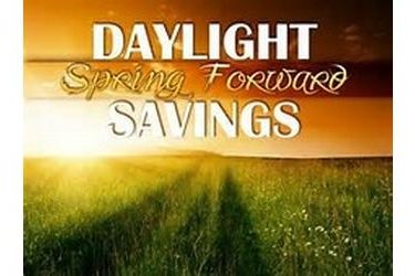 """Don't Forget to """"Spring Forward"""" This Weekend"""