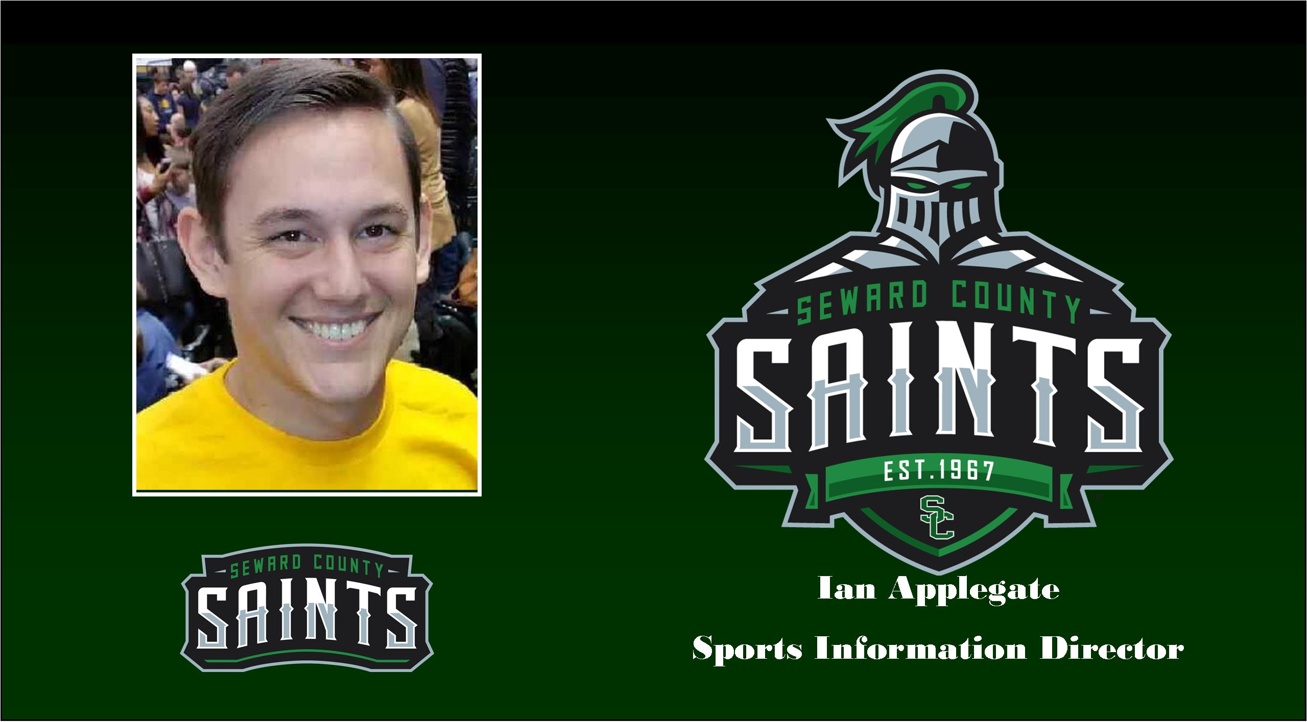 Saints Tab Applegate For Sports Information Director