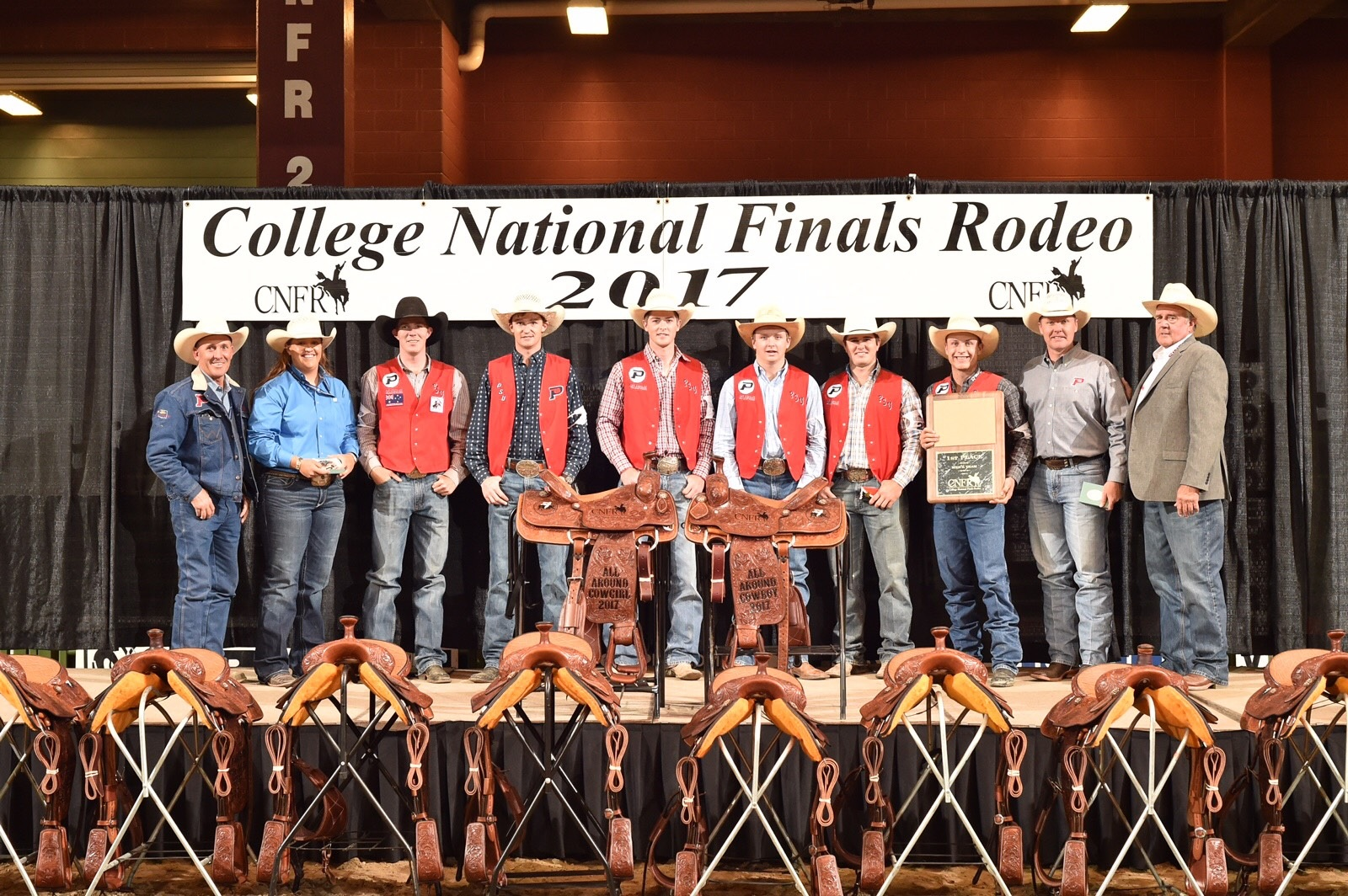 OPSU Men's Rodeo Team Wins National Title