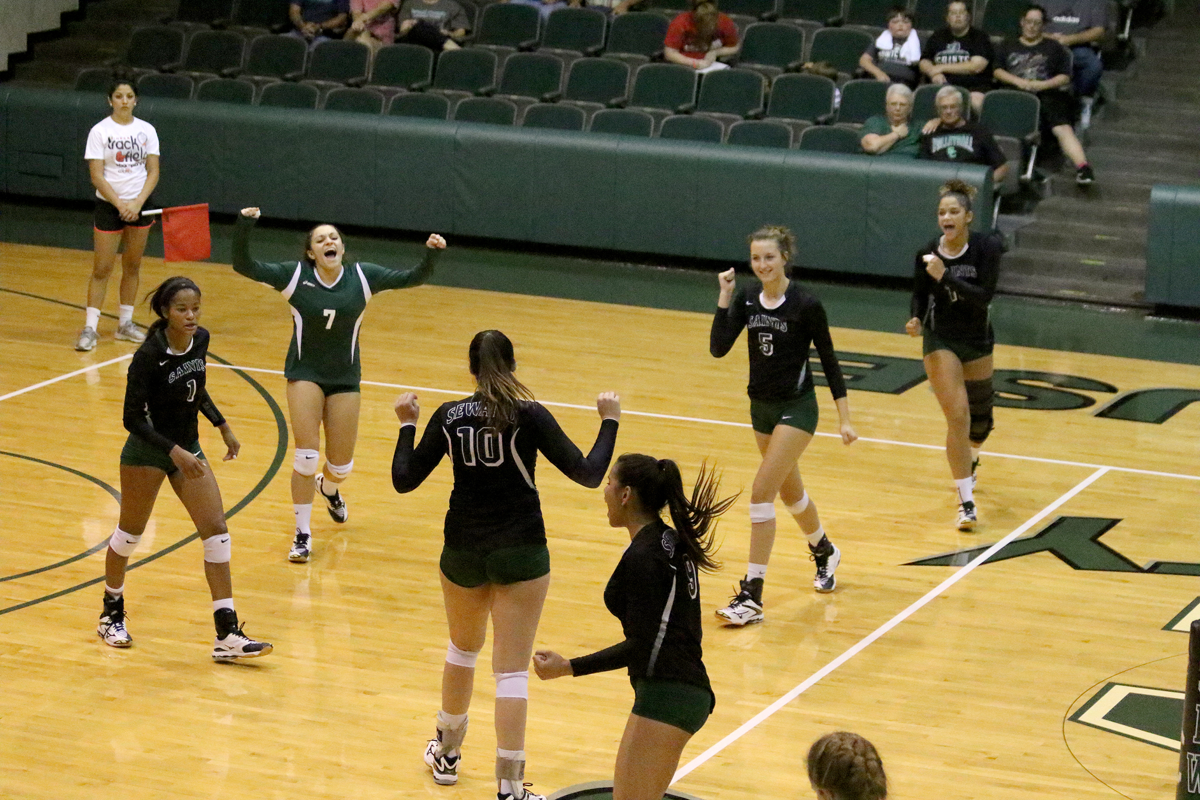 Lady Saints Volleyball Ranked 18th in First National Poll