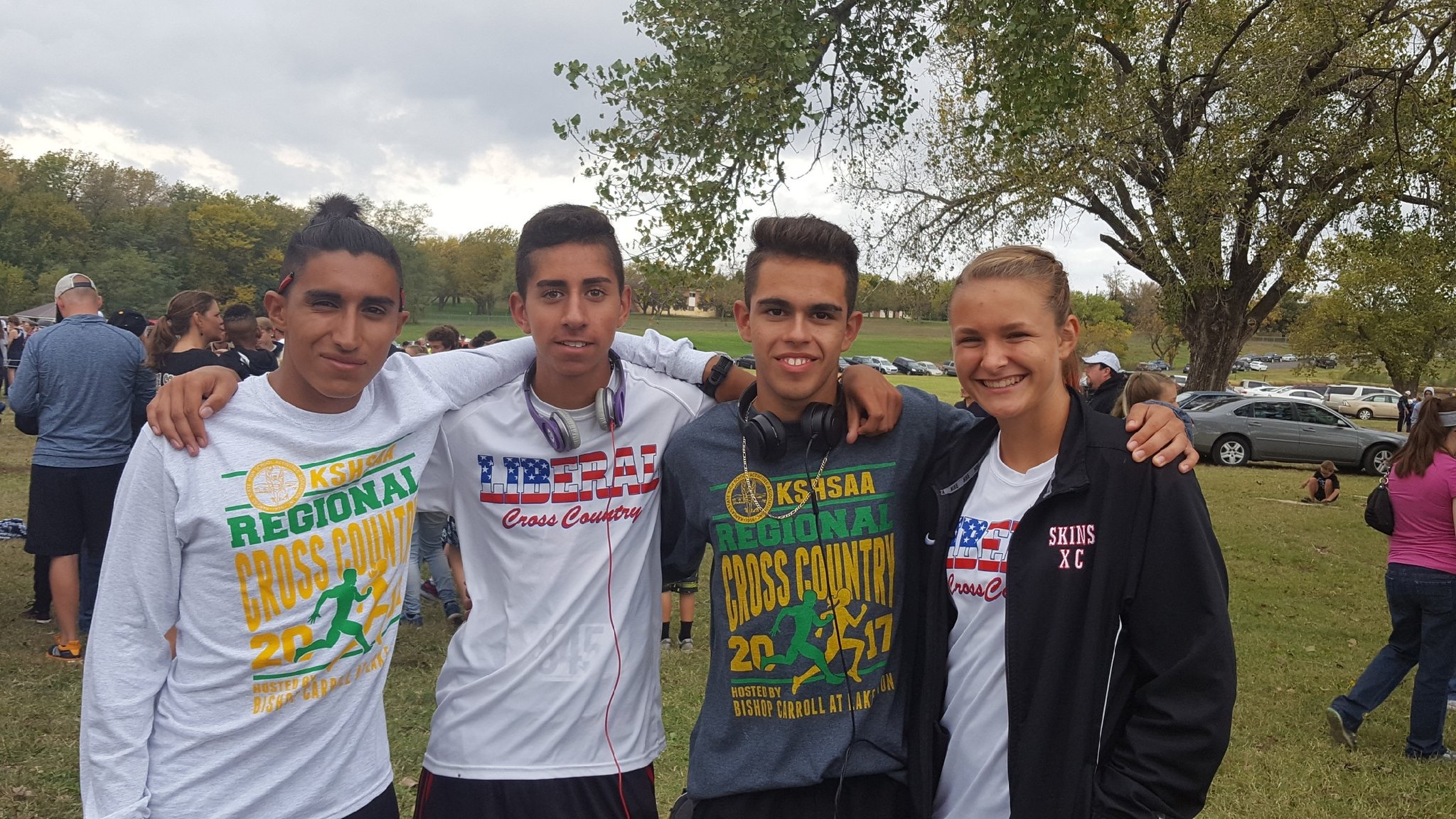 Four Redskin Runners Make State