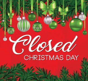 City, County Offices Closed Christmas Day