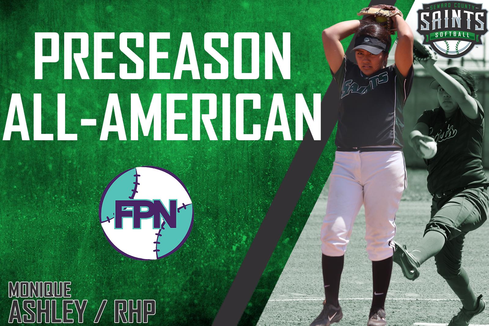 Ashley Named Preseason All-American by Fastpitch News