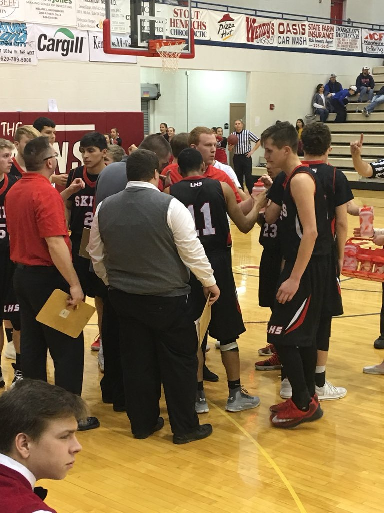 Free Throws Foil Redskins in Dodge City