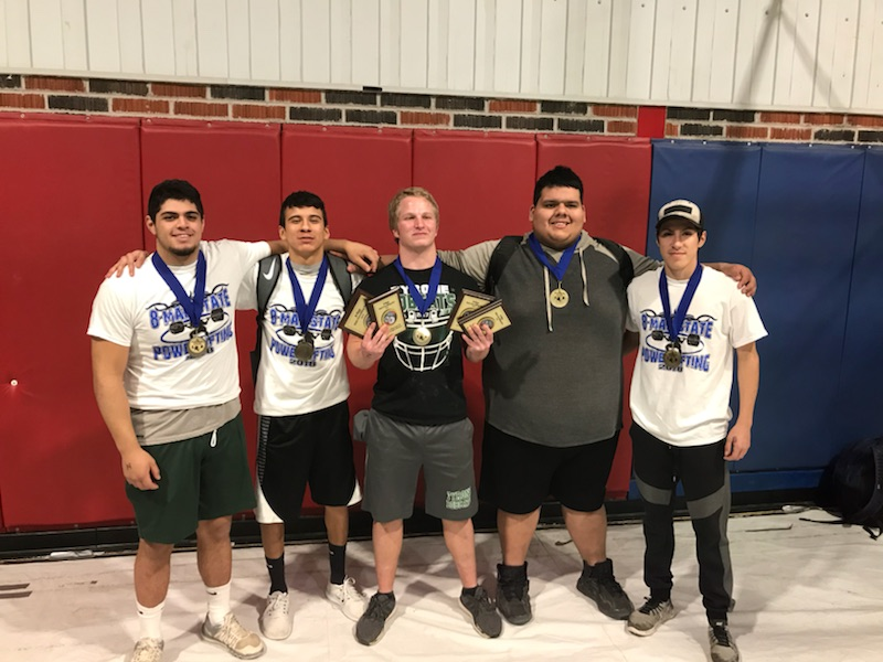 Tyrone Takes 4th at State Powerlifting