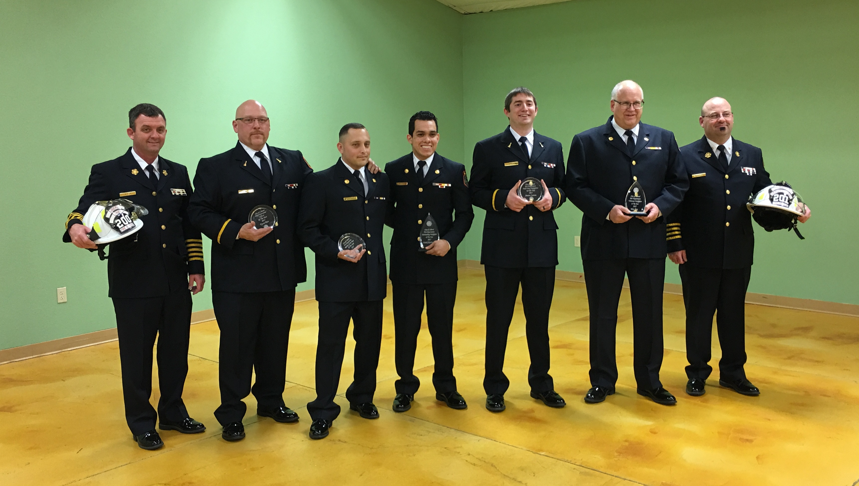 Liberal Fire Department Award & Recognition Ceremony