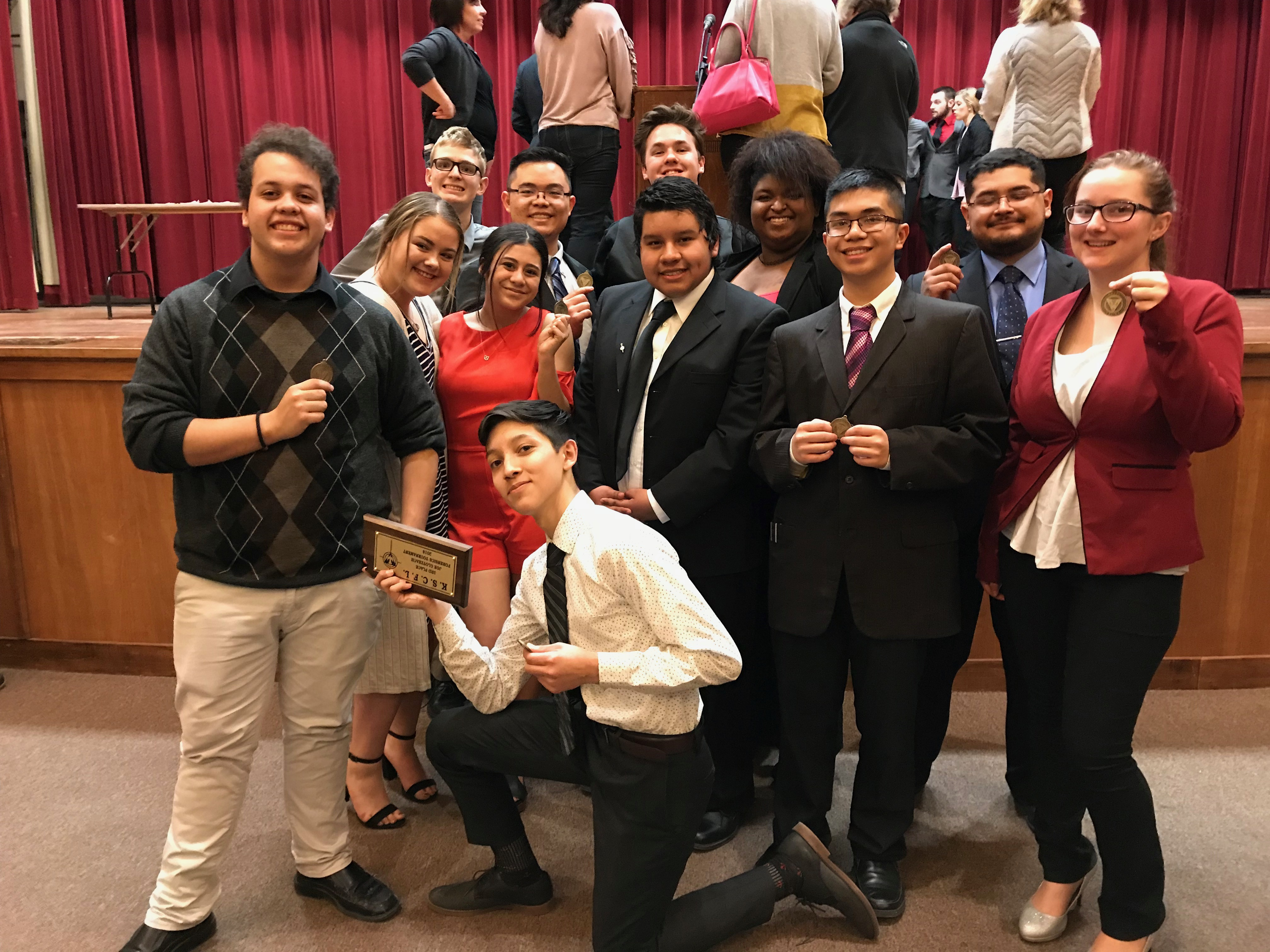 LHS Forensics Team Headed to Nationals in Washington DC