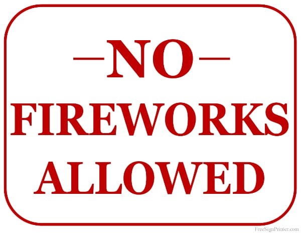 Fireworks are Still Banned in Rural Areas of Seward County