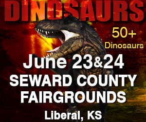 Jurassic Tour, the Ultimate Family Dinosaur Adventure Coming to Liberal