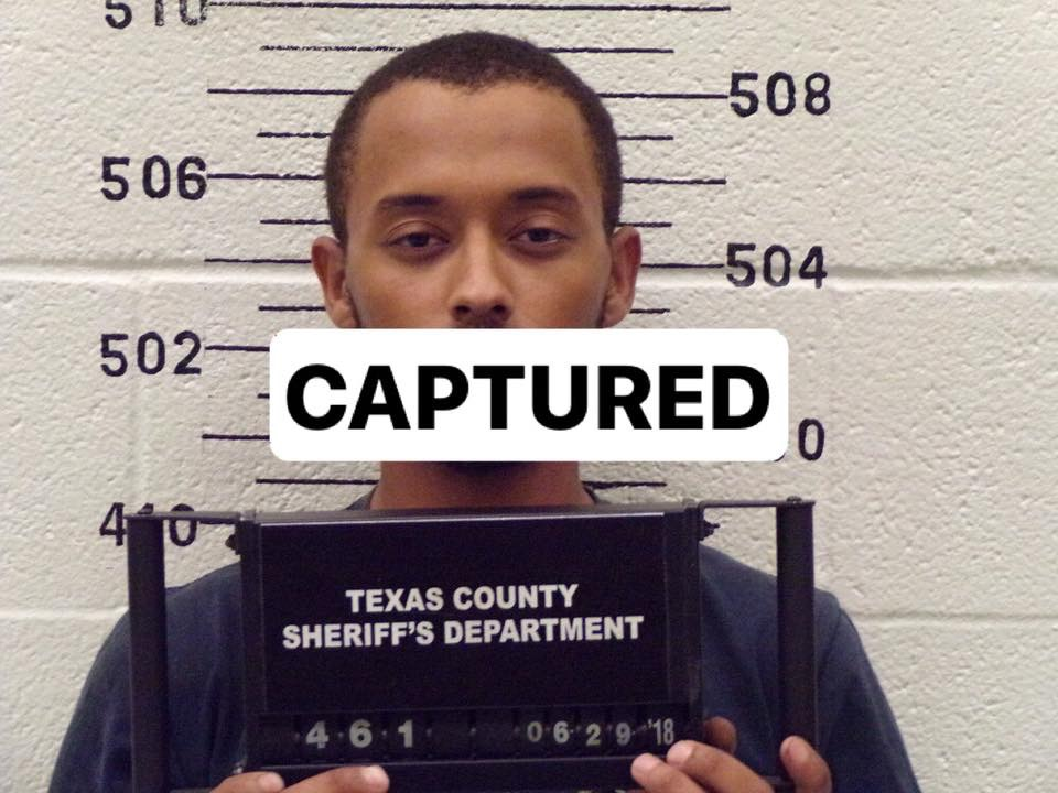 UPDATE: Captured-Texas County Sheriff Seeks Suspect