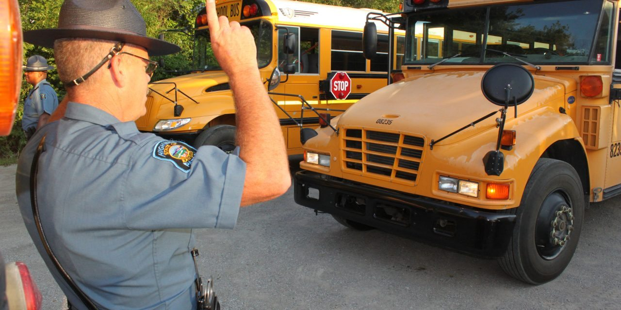 KHP To Inspect Buses Prior to the Start of School
