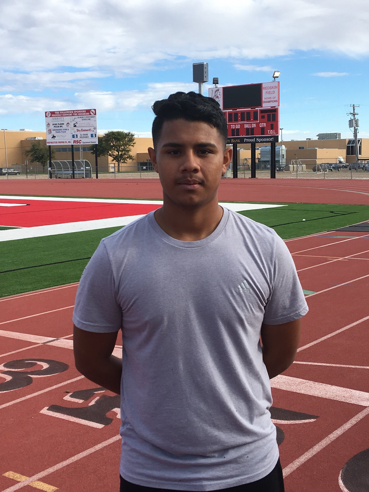 Levi Flores is Hay Rice and Associates Athlete of the Week