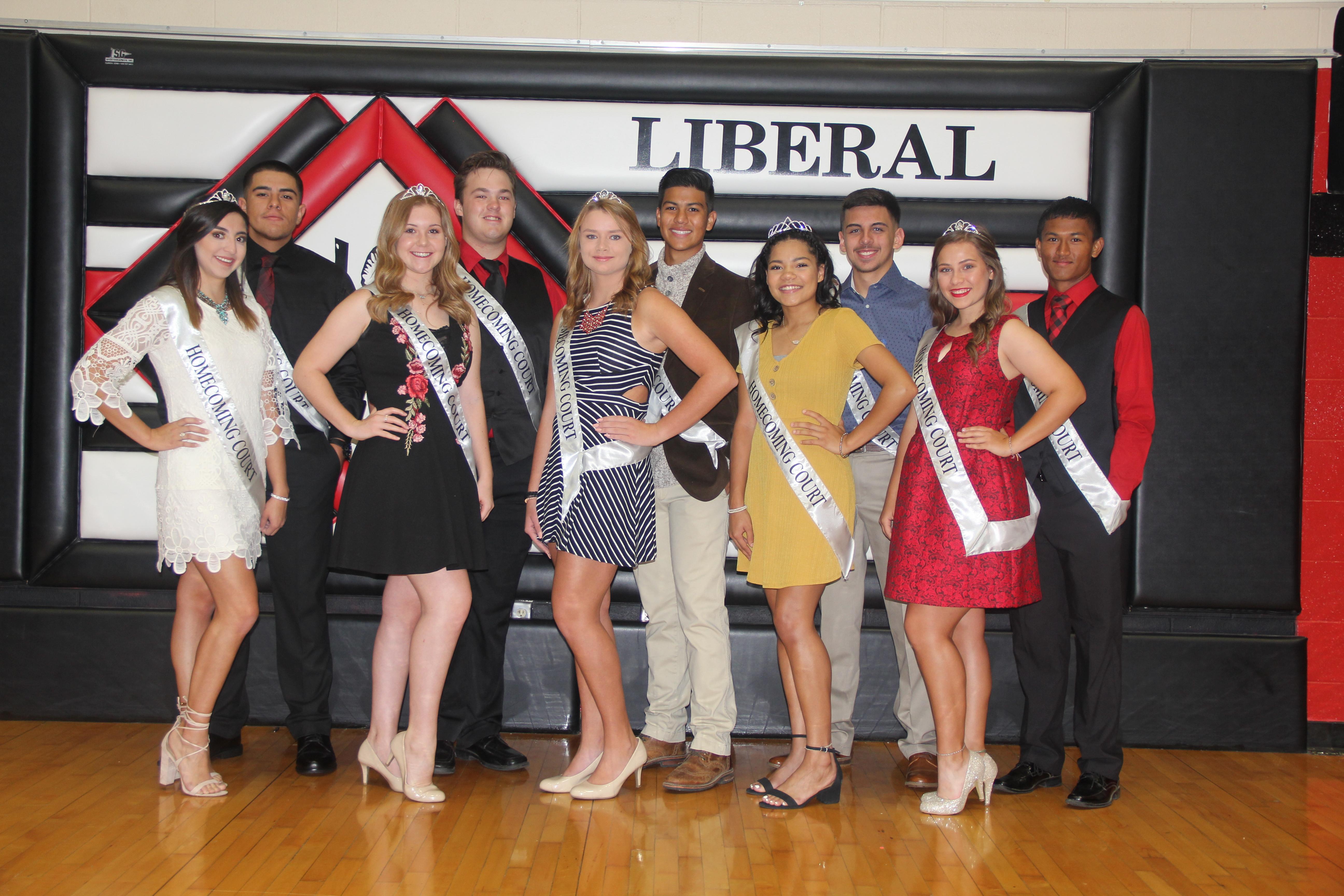 Liberal's Homecoming Royalty