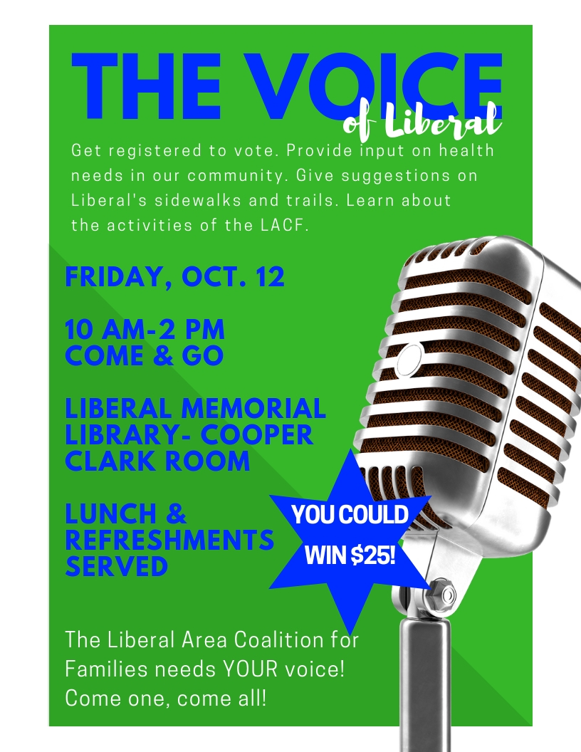Liberal Area Coalition for Families Needs Your Voice