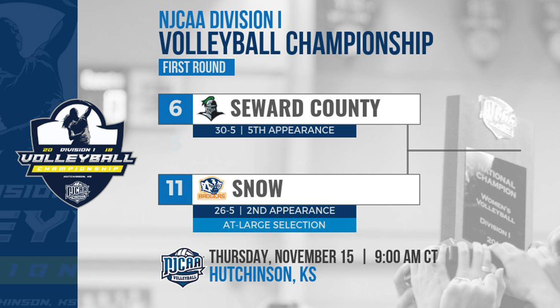 Seward Draws No. 6 Seed, Will Take on Snow in Opening Round