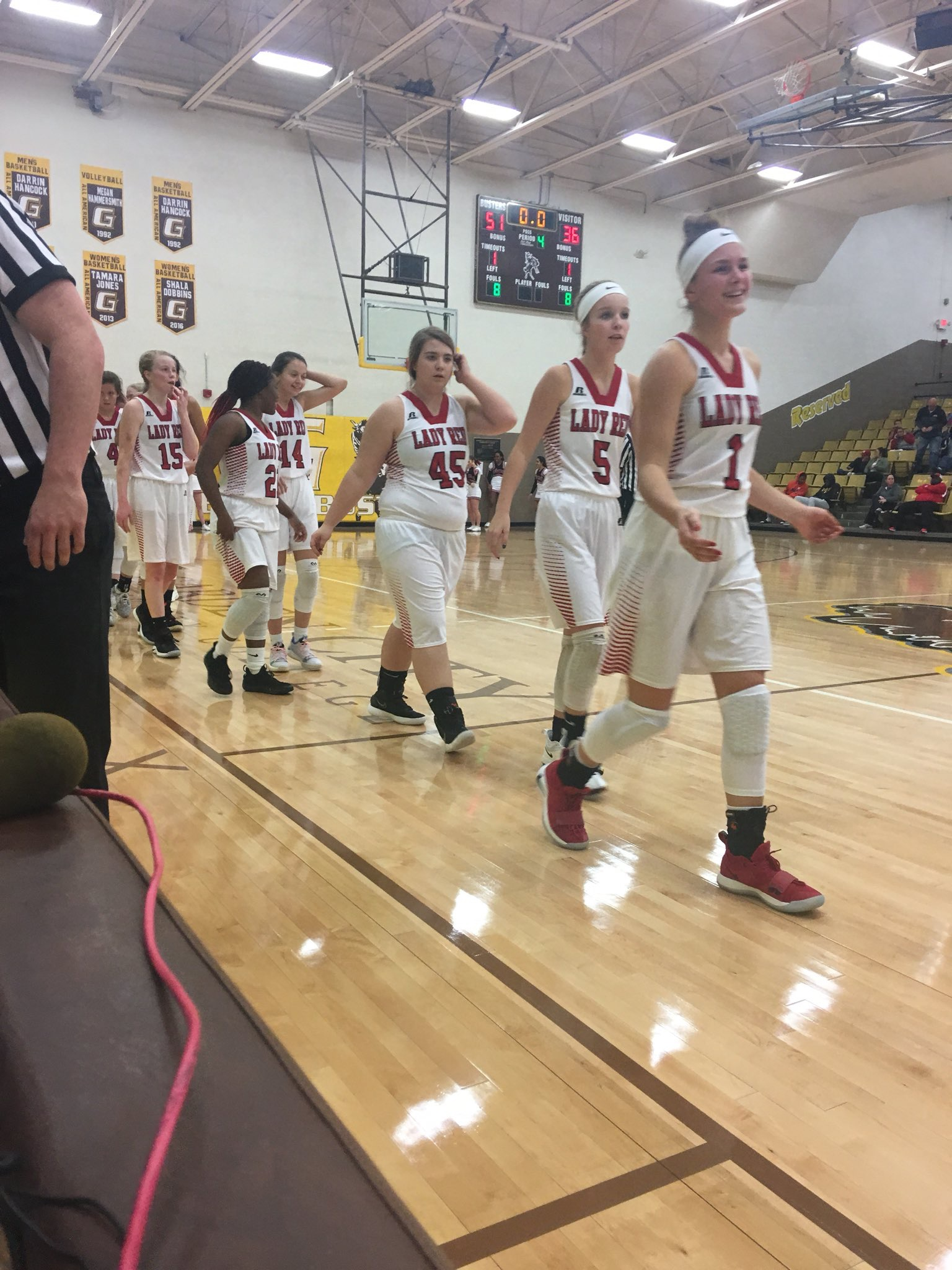 Lady Redskins Move Up in Rankings
