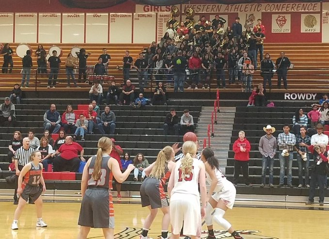 Lady Redskins Handle Holcomb