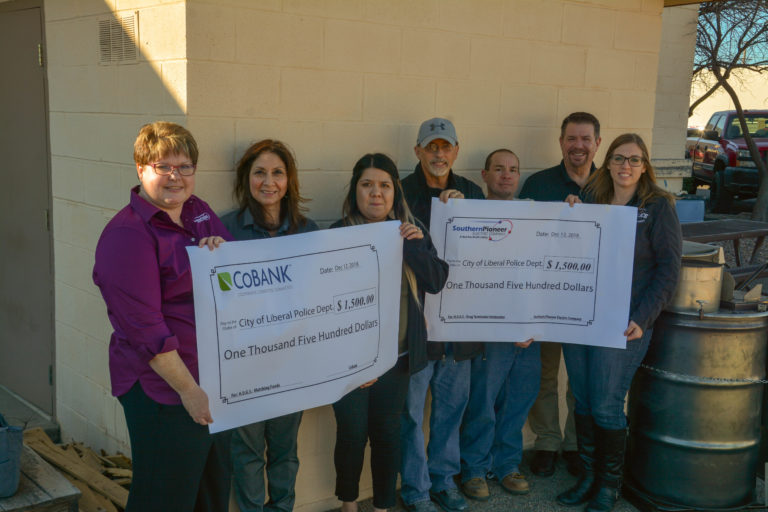 Southern Pioneer H.U.G.S. Program Gives to Local Organizations