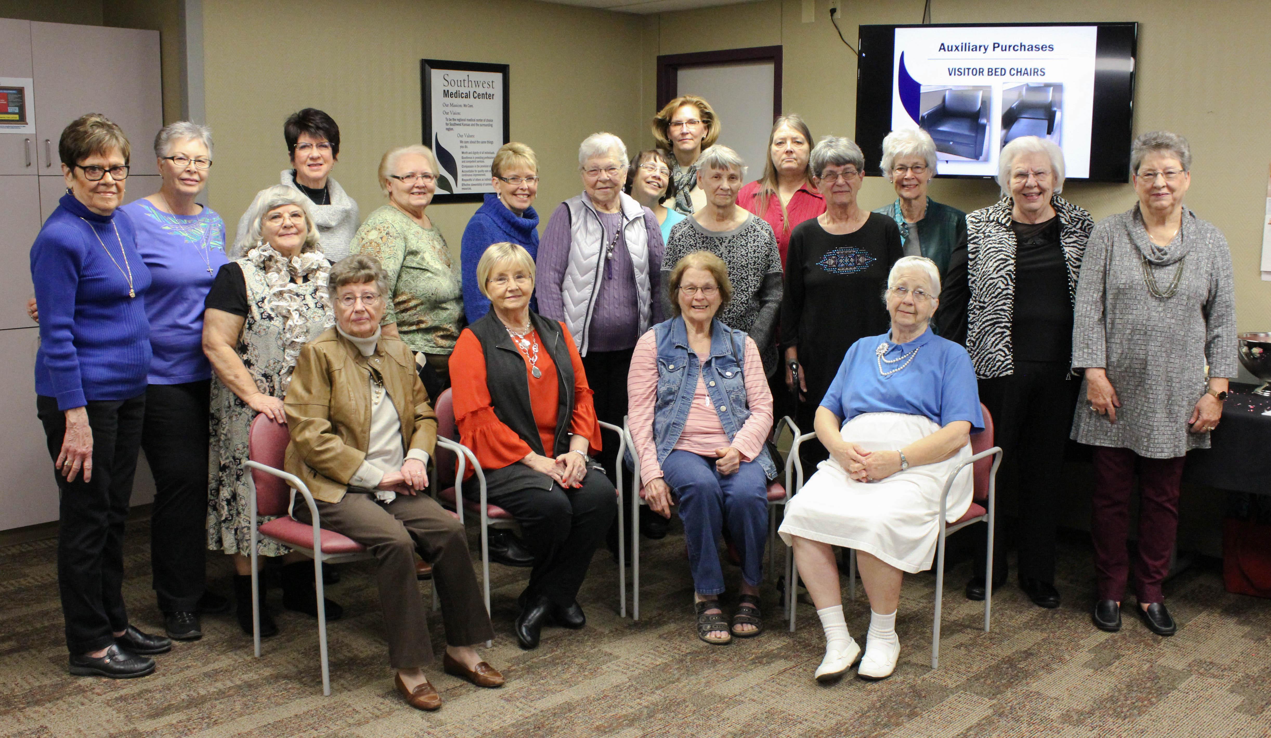 SWMC Auxillary Celebrates Community Volunteers