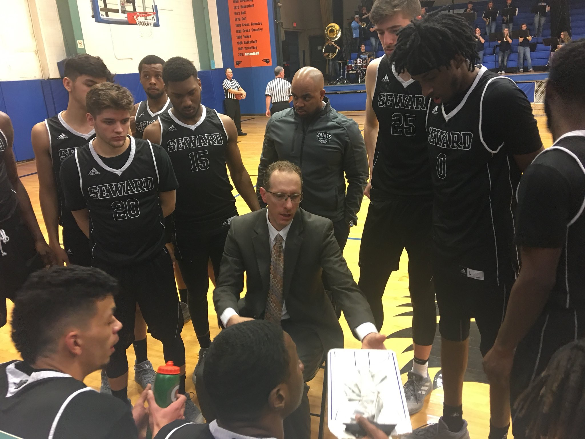 Trojans Outlast Saints in Colby